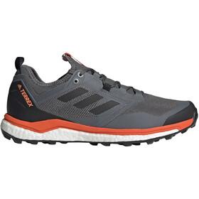 adidas TERREX Agravic XT Zapatillas Corte Bajo Hombre, grey five/core black/active orange